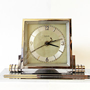 1940s German Art Deco  Alarm clock/Made in Germany/Kienzle/Alarm clock / Retro alarm clock ...