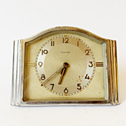 1950s Kienzle German Art Deco Alarm clock/Made in Germany/Kienzle/Alarm clock / Retro alarm ..