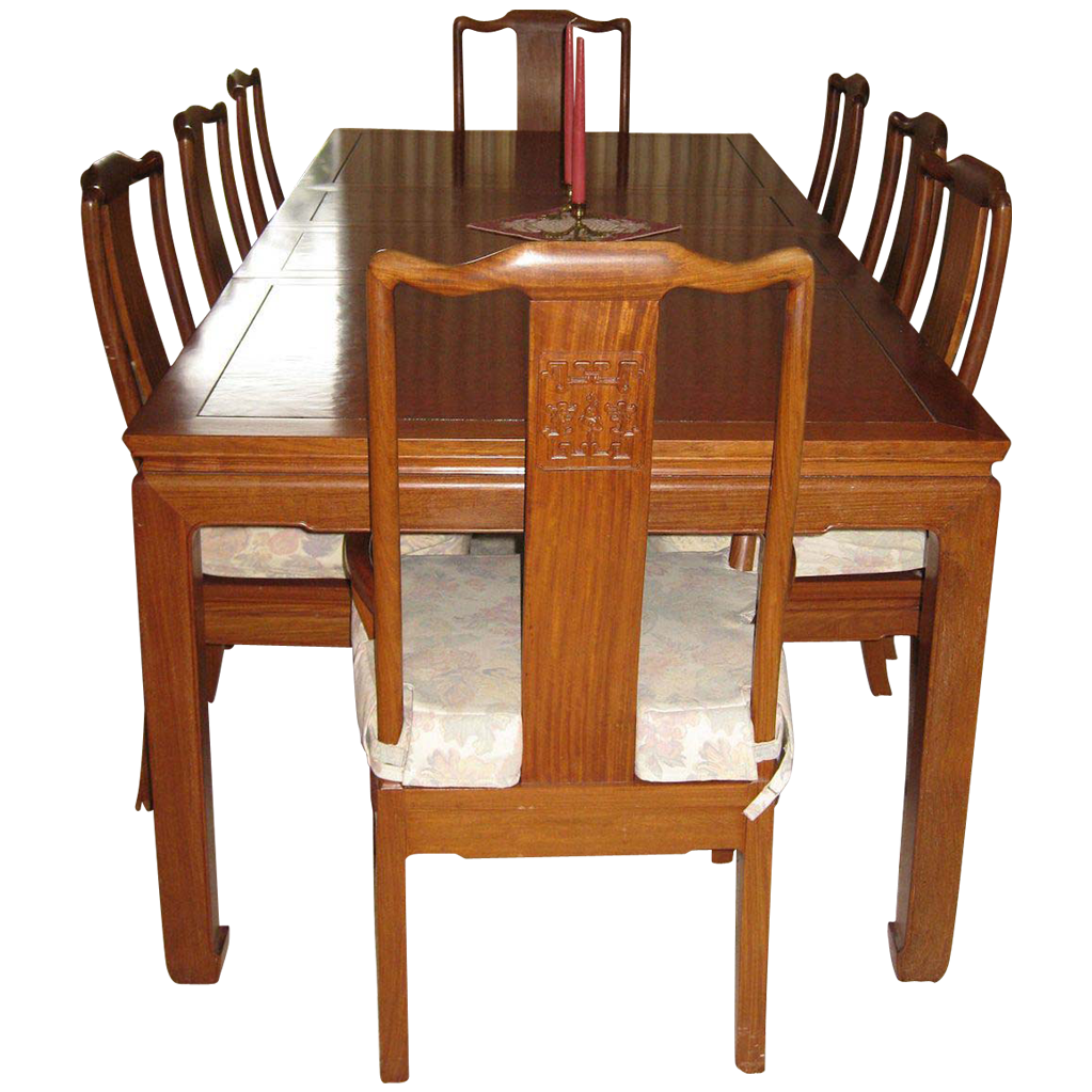 Rosewood Dining Table And Chairs Korup Stolefabrik