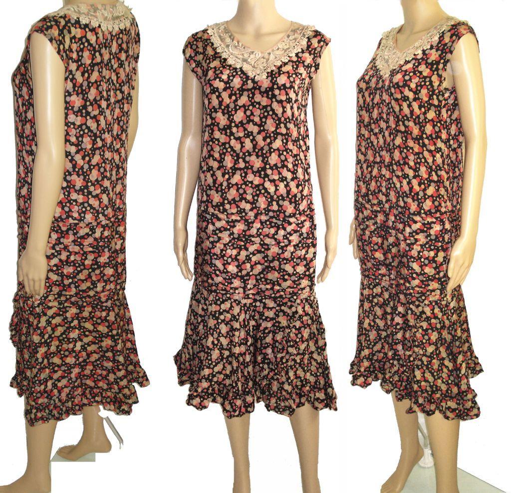 vintage 1920s dress 20s flapper dress roaring 20s