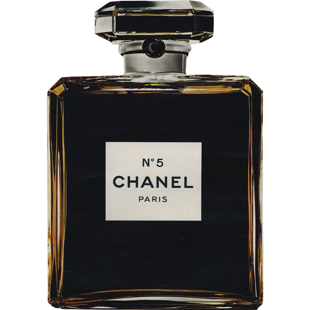 Chanel no 5 perfume drawing