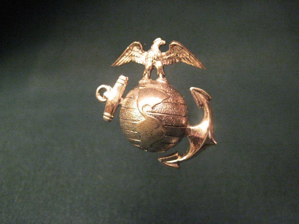 Marine Hat Pins Brass Hat Pin With Marine