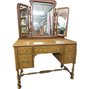 Furniture & Lighting Vanity Mirror on Ruby Lane page 1 of 4