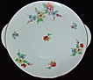 Sophienthal Fein Bayreuth Germany China Cake Plate or Dessert Platter with Gold Trim