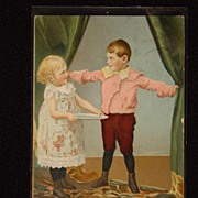 SOLD Vintage Early 1900's Raphael Tuck & Sons Little Men & Women Series Postcards Demanding ..