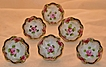 Dainty Royal Nippon Hand Painted Floral Nut Dish Tri Footed