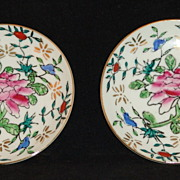 SOLD Small Oriental Decorated Plates