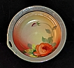 Vintage Vibrant Chikaramachi Noritake Lusterware Round Bowl with Hand Painted Scenic Center