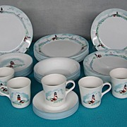 SOLD Corelle Impressions Outer Banks Dinnerware Microwave Safe