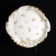 Gorgeous Limoges Regal Haviland Chop Platter with Handles