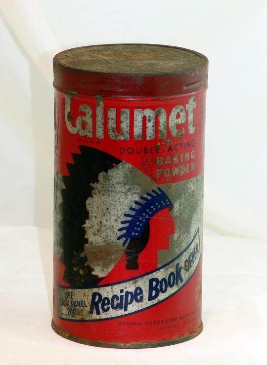 Vintage Advertising Tin Calumet Baking Powder General Foods