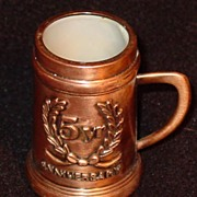 Copper Mug - 5 Year Anniversary 'Shot Mug'