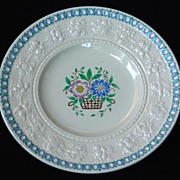 Adorable Wedgwood Embossed Porcelain Bread & Butter Plate