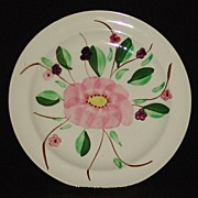 Vintage Hand Painted Blue Ridge/Southern Potteries~Cumberland ~Astor Bread Plate