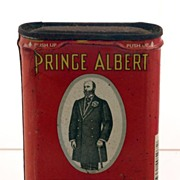 Here he is! Prince Albert in a Can! Vintage Tobacciana Advertising