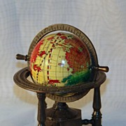 Miniature Globe Pencil Sharpener