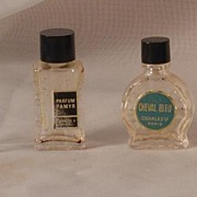 Collection of 4 Micro Miniature Perfume Bottles
