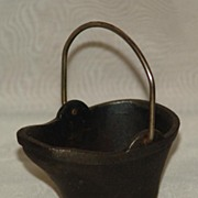 SOLD Salesman Sample Miniature Vintage Coal Bucket