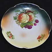 Vintage Made in Germany Fruit Cluster Plate