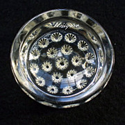 EAPG Early American Pattern Glass Buttons Salt Dip Dainty Glass