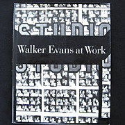 Walker Evans at Work 1982 First Edition with 745 Photographs
