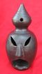 Barro Negro Black Pottery Incense Burner Oaxaca Mexico Lama