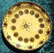Vintage Tan Mexican Pottery Charger Plate