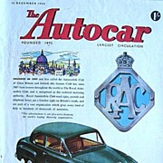 British Auto Magazine The Autocar 25 December 1953 The Austin