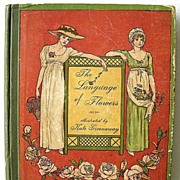 SALE Early Edition of Greenaway's Classic Book The Language of Flowers