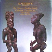 The Harry A. Franklin Family Collection of African Art. Sotheby's Auction