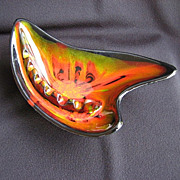 Mid-century Modern California Cal Style Boomerang Ashtray 2917 USA