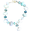 KENNETH LANE- polished stone necklace