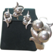 Sterling Vintage Mexican Parure- 99.5 grams