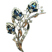 TRIFARI- signed brooch
