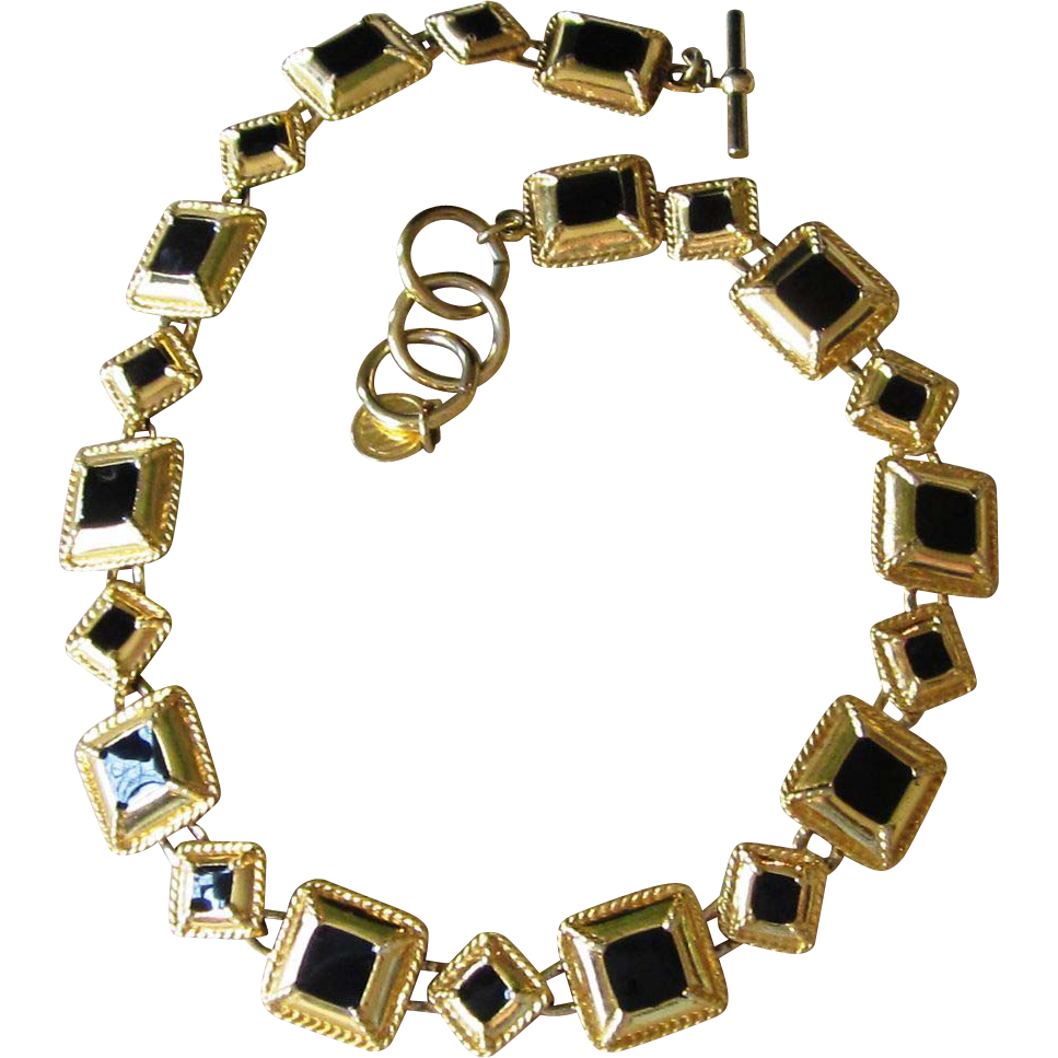 Anne klein vintage designer necklace from runwayvintage on for Best place to sell gold jewelry in chicago
