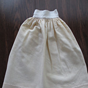 Petticoat Slip For Bisque Or China Doll 6 �� Waist