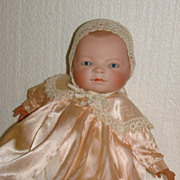 Precious Satin Jacket For Bisque Or Composition Doll