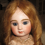 SOLD Wonderful Bisque Doll Wig With Long Curls 13&quot;-14&quot;