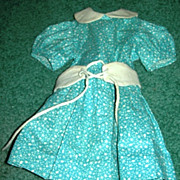 Turquoise blue dress 4 HP or Compo Dolls
