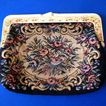 Vintage Petit Point Clutch Purse from Hong Kong