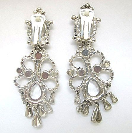 Rhinestone Earrings-Dangle - Wholesale - Rhinestone Jewelry