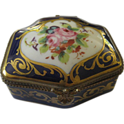 Le Tallec French Porcelain Dresser Box