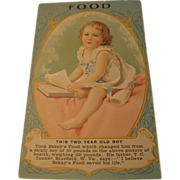 Eskay's Food Trade Card
