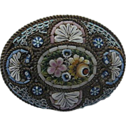 REDUCED Italian Micro Mosaic Pin/Brooch