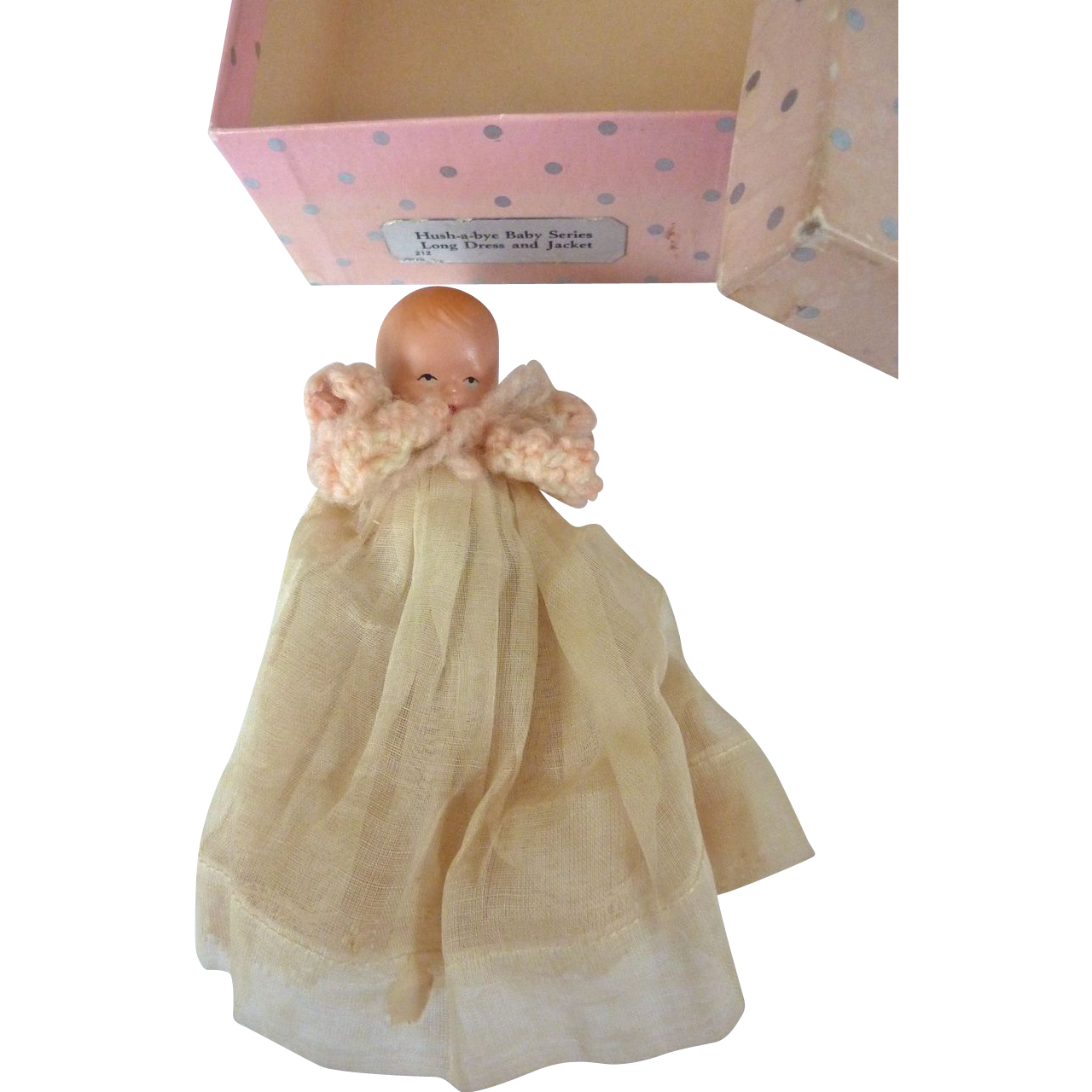 Vintage nancy ann storybook star hands hush a bye baby 212 in from