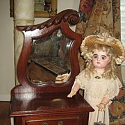 SALE Fabulous Antique Doll Dresser - Salesman Sample