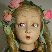 SALE Gorgeous Tagged Lenci Salon/Boudoir Lady - Lillian Gish face