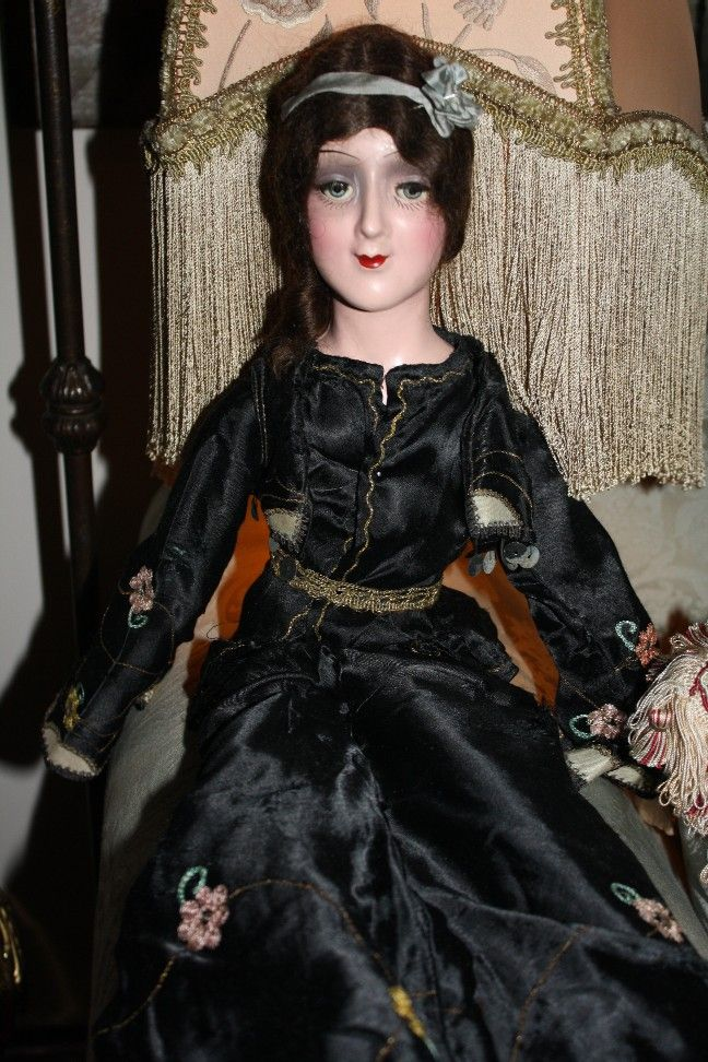 RARE Sleep-eyed Anita Flapper Boudoir Doll