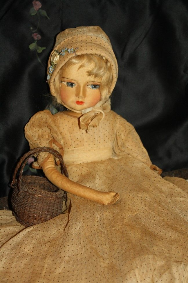 Original Blossom Child Boudoir Doll