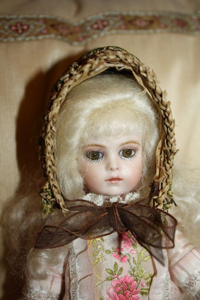 RARE and HTF Adorable small Vintage Doll Hat